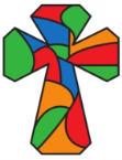 stainedglass cross