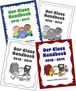 Class Handbook Covers
