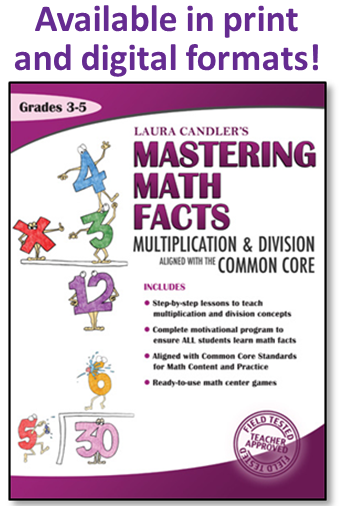 Mastering Math Facts $5.00 off