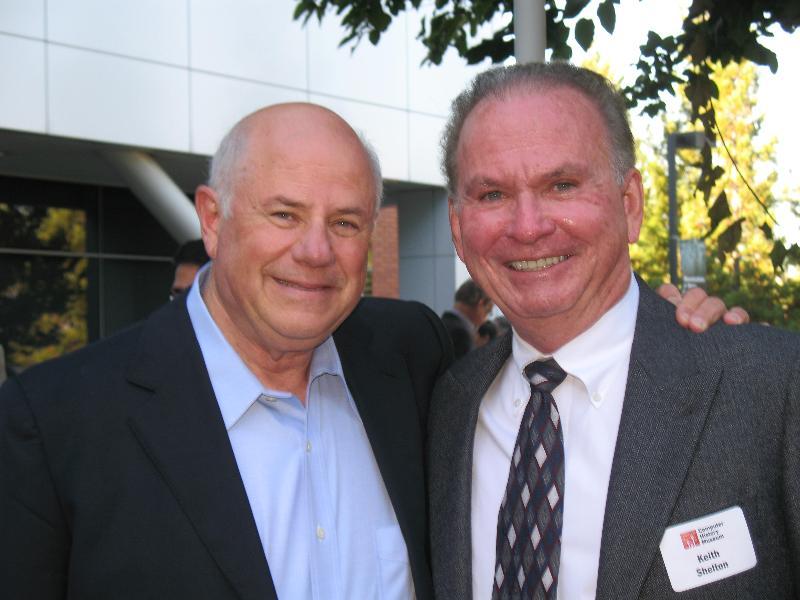Keith Shelton with Eli Harari