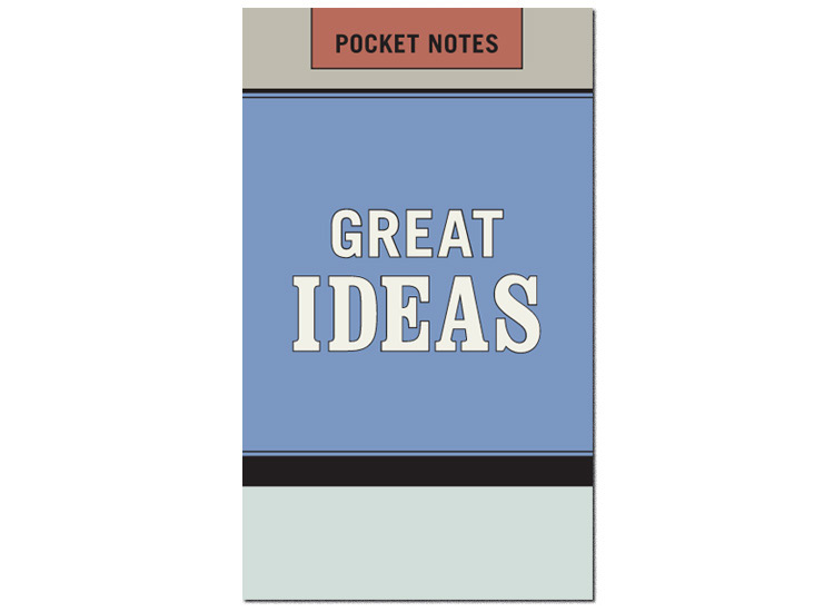 Great Ideas Pocket Notes