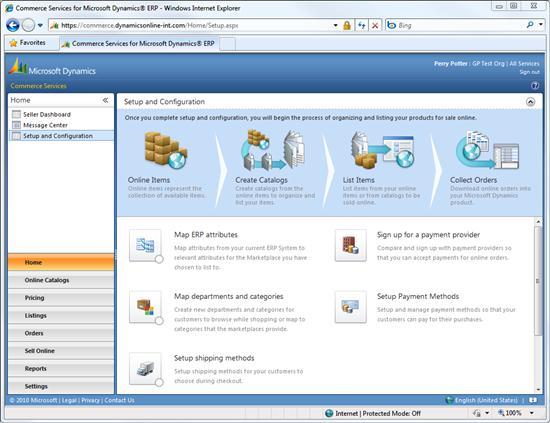 Commerce Screen Shot