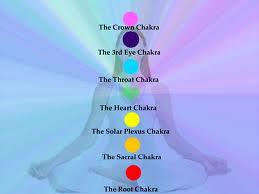 chakras on the body