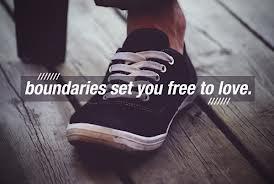 Boundaries set you free to love