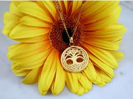 sunflower with celtic tree of life