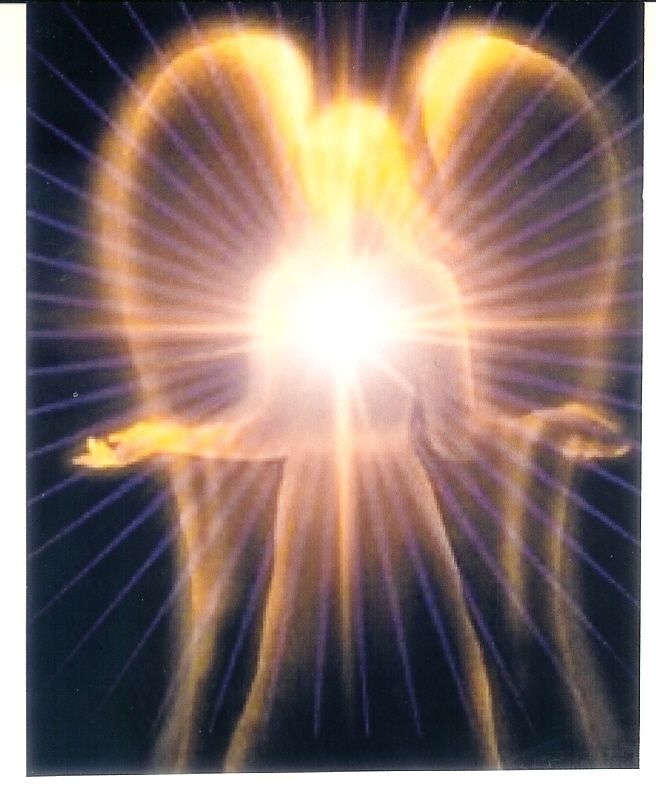 Angel Wings with Inner Light