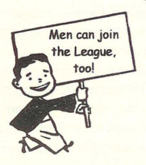 Men Can Join League Too