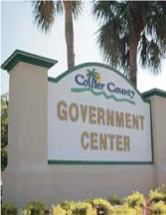 Collier County Govt Center Sign