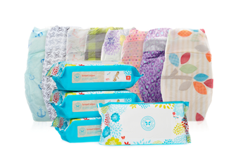 plant based disposable diapers