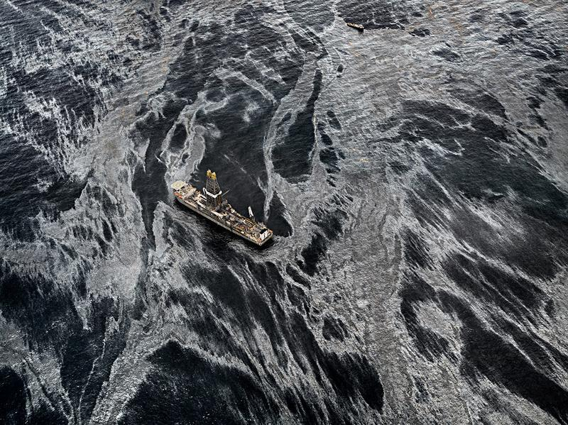 Oil Spill #2, Discoverer Enterprise, Gulf of Mexico, May 11, 2010