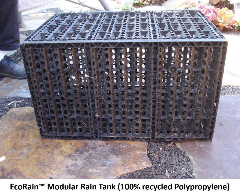 Modular rain tanks