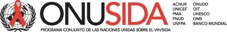 Logo ONUSIDA espanol