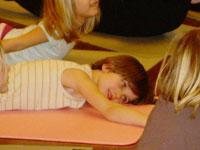 Children in Dhana's class