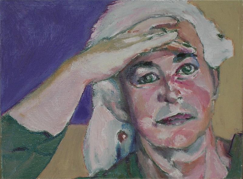 Wende self portrait