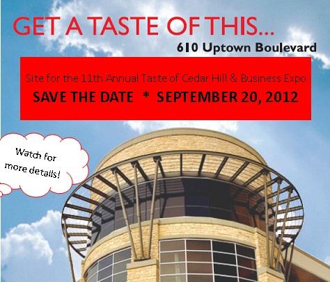 Taste 2012 Save the Date