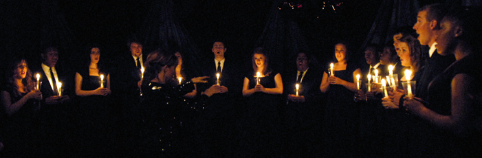 Singers Candlelight