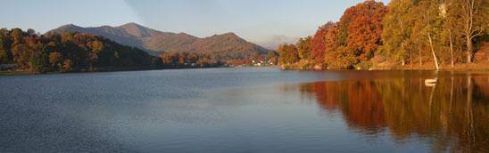 Fall at Lake Junaluska