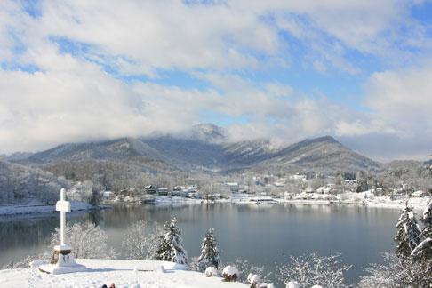 Lake Junaluska in Winter