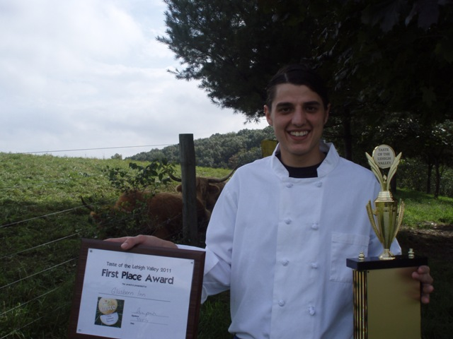 Glasbern winner Chef Yianni
