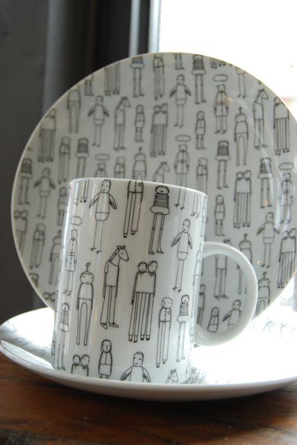 New ceramics designed by Shelley Klein of K Studios in Grand Rapids, MI