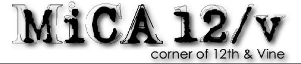 MiCA 12v logo