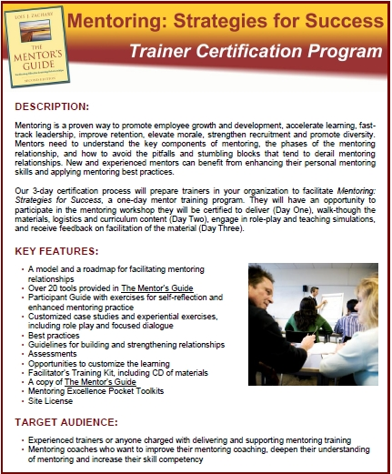 Mentoring Strat for Success Course