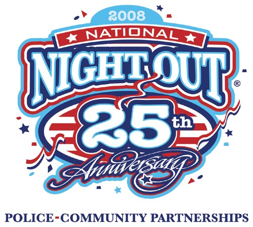 2008 National Night Out Logo