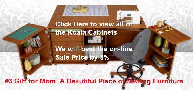 Koala Sewing Cabinet