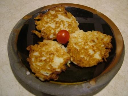 Kohlrabi Pancakes