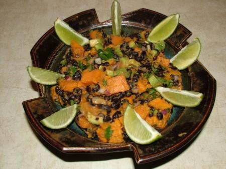 Sweet Potato Black Bean Salad