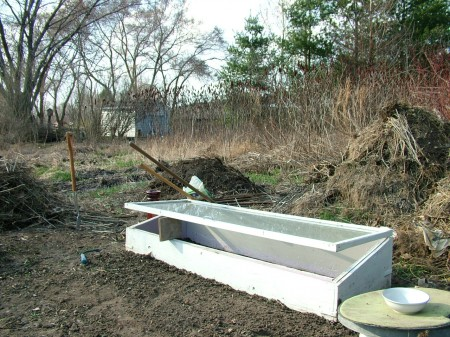 Noel's Compost and Cold Frame