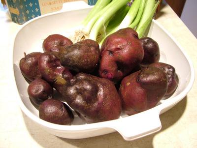 Leek potato