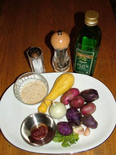 Potatos and Quinoa