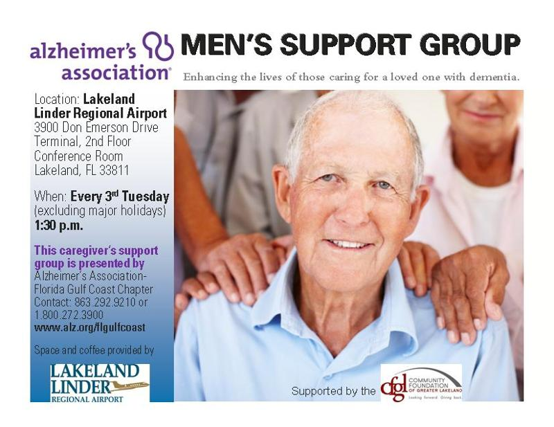 Support Group for Male Caregivers