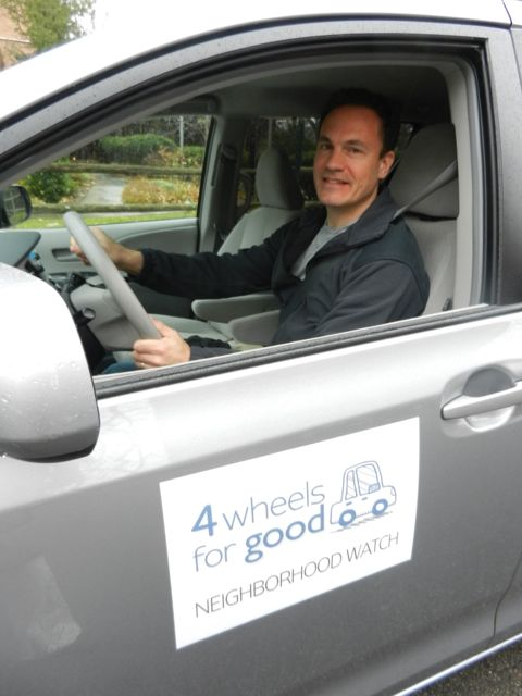 4 Wheels for Good NW Launch