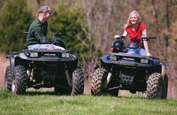 Enjoy Riding Atv's