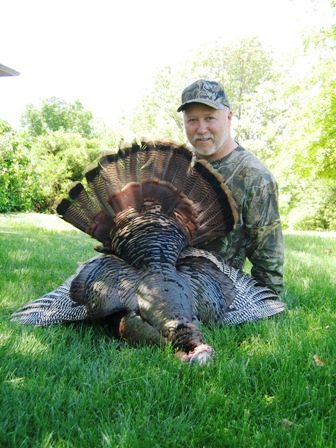 Dan Owens with his Turkey