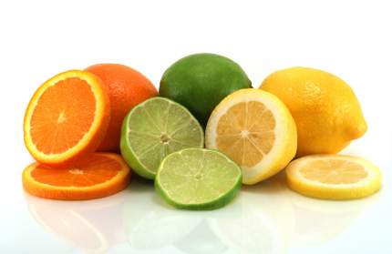 Garnish with your favorite citrus fruit!