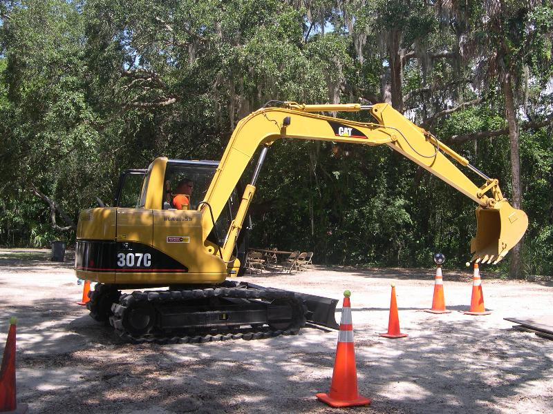 Try your hand on the Excavator