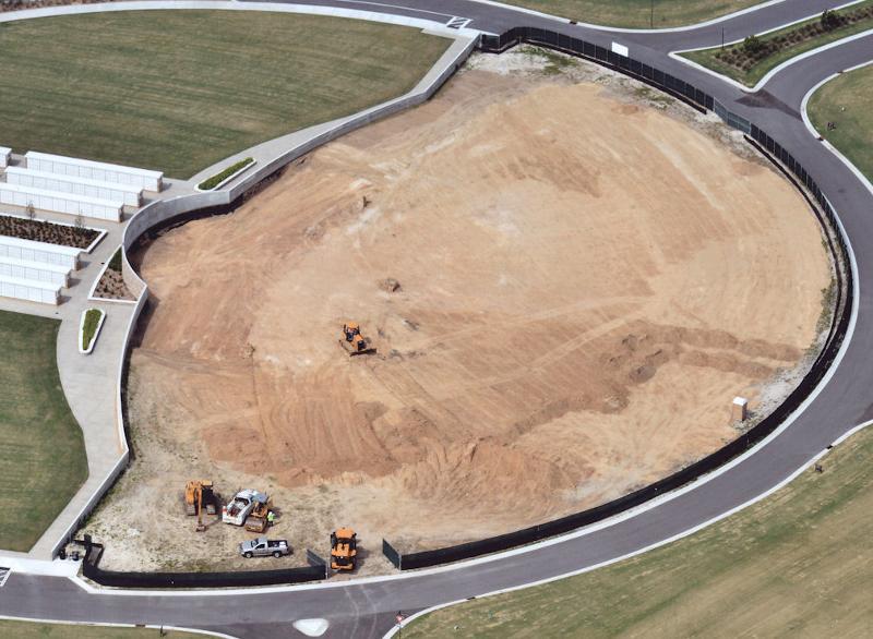 Patriot Plaza Rough Grading Complete