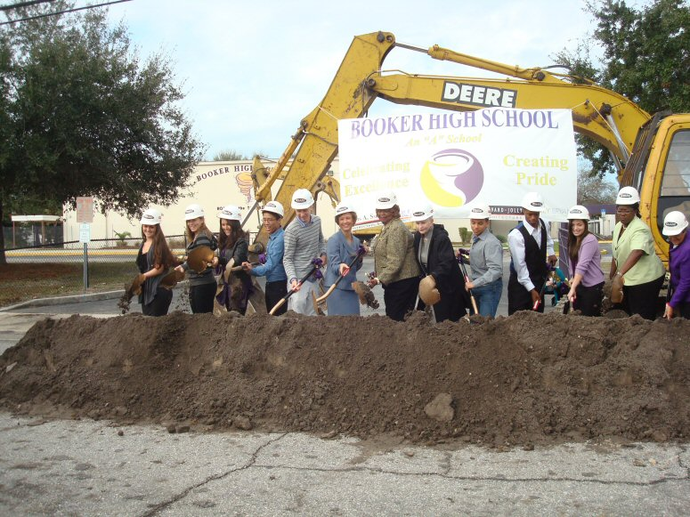 Booker High Groundbreaking Ceremony