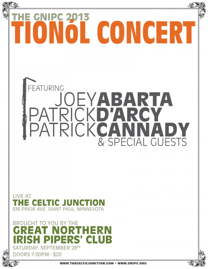 Tionol Concert Poster