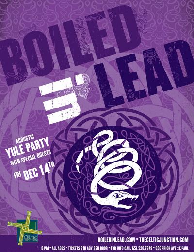 Boiled in Lead poster