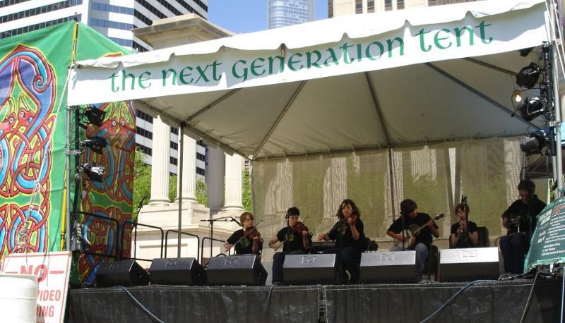 Celtic Fest on Stage