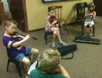 Hooley camp fiddles