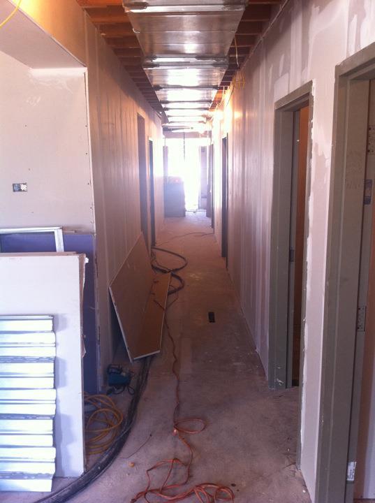 New corridor