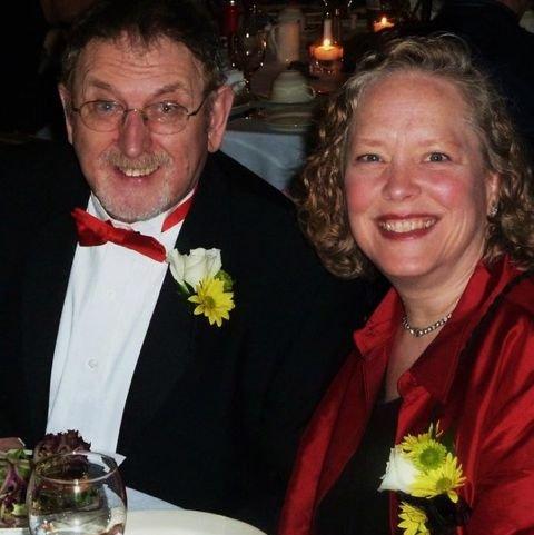 Erin Hart, Honorary Chair, & Paddy O'Brien