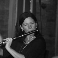 Kate with flute