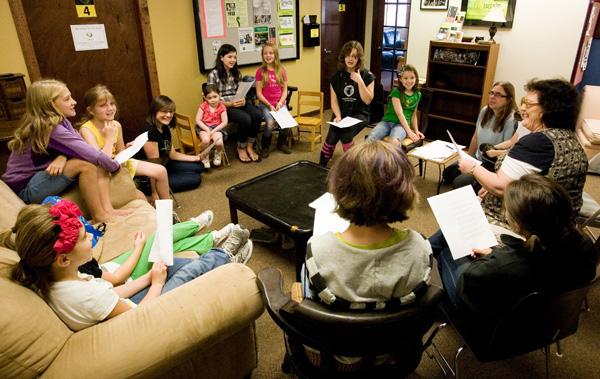 Maighread's children's singing workshop