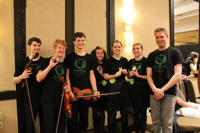 Advanced ensemble at 2013 Fleadh